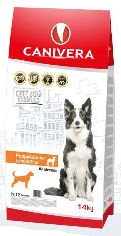 CANIVERA PUPPY & JUNIOR LAMB & RICE 14kg