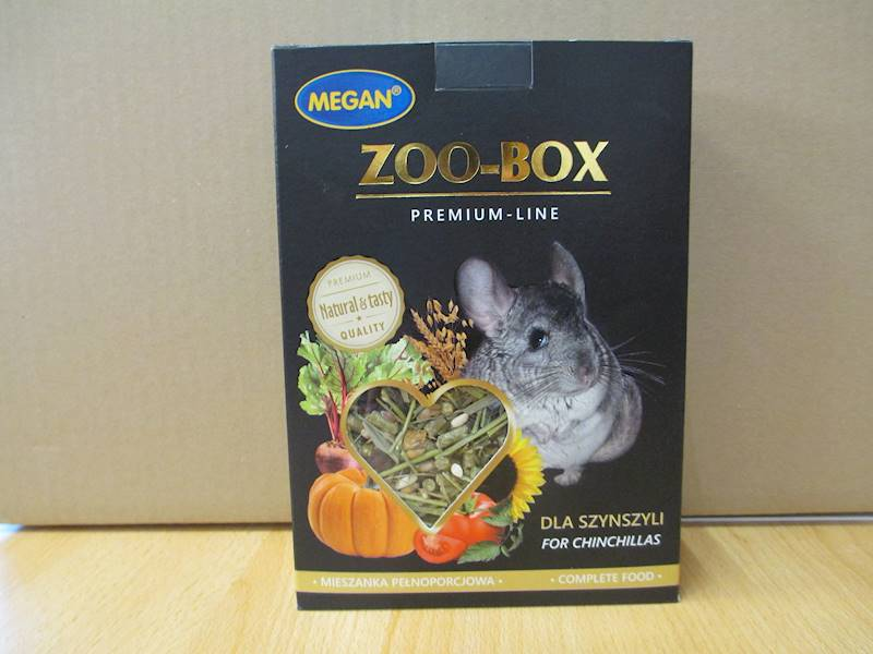 MEGAN ZOO-BOX DLA SZYNSZYLI 500g