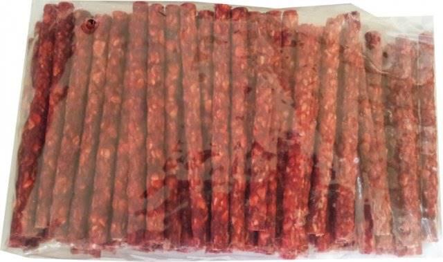 P.KABANOS 12.5cm czerwone-100szt