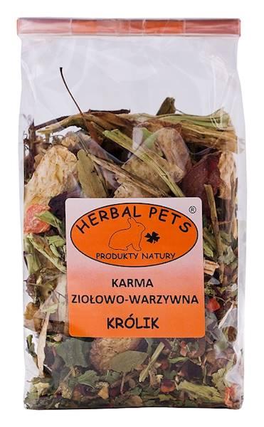 PETS KRÓLIK-ZIOŁOWO/WARZYWNY 150g