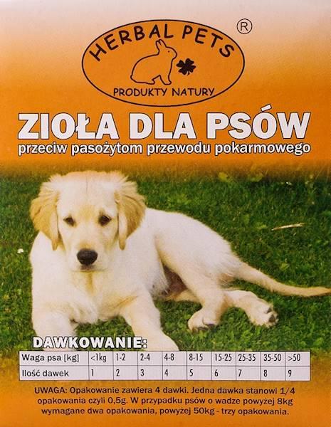 PETS ZIOŁA P/PASOŻYTOM 2g-pies