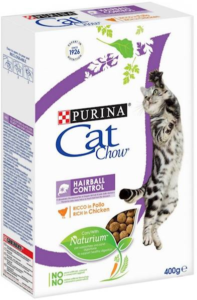 PURINA CAT CHOW 400g H.C./odkł.  *