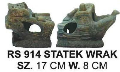 CERAMIKA STATEK WRAK RS914