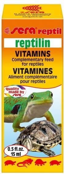 SERA REPTILIN 15ml - witaminy
