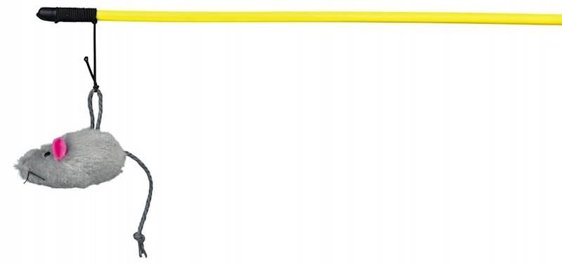 ZB.TX WĘDKA DLA KOTA z myszą  50cm
