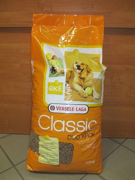 V.CLASSIC DOG DUO KROK 20kg - karma pies