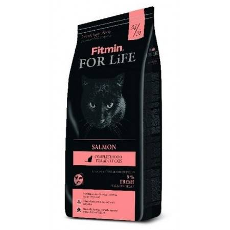 FITMIN KOT FOR LIFE SALMON 8kg