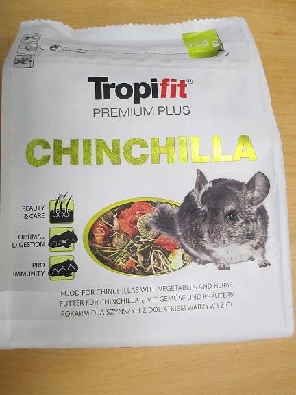 TROPIFIT  PREMIUM PLUS CHINCHILA ADULT 750g