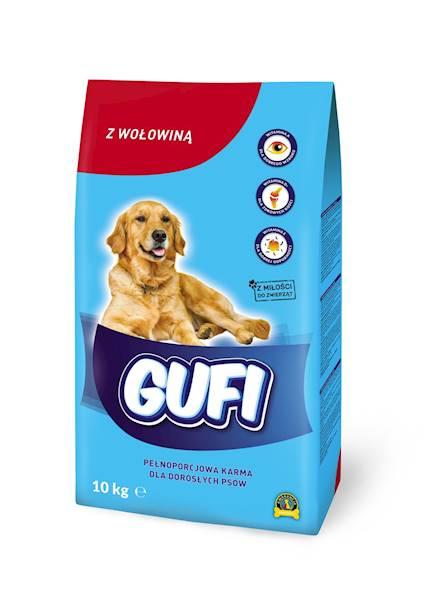 GUFI KARMA DLA PSA z wołowiną 10kg