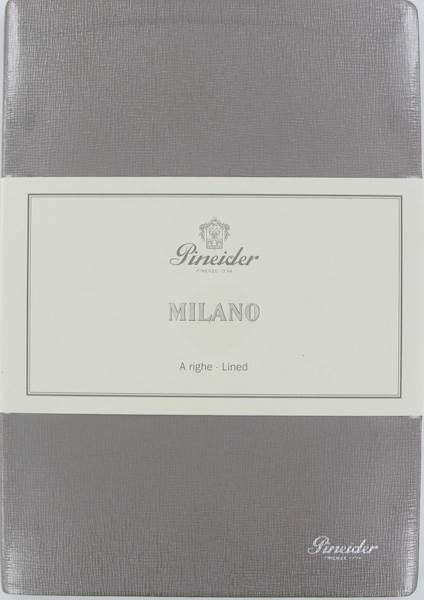 "PINEIDER-NOTES MILANO 14,5X21 L.IVO80G-""377""SILVER"