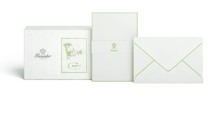 PINEIDER-PAPETERIA CAPRI BOX 12 CARDS CCCCB9135