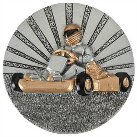 Emblemat DX33 karting