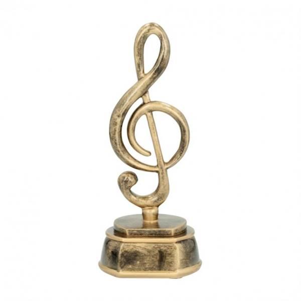 Statuetka 61192 klucz wiolinowy