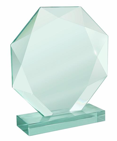 Trofeum szklane XME050 B grawerowane