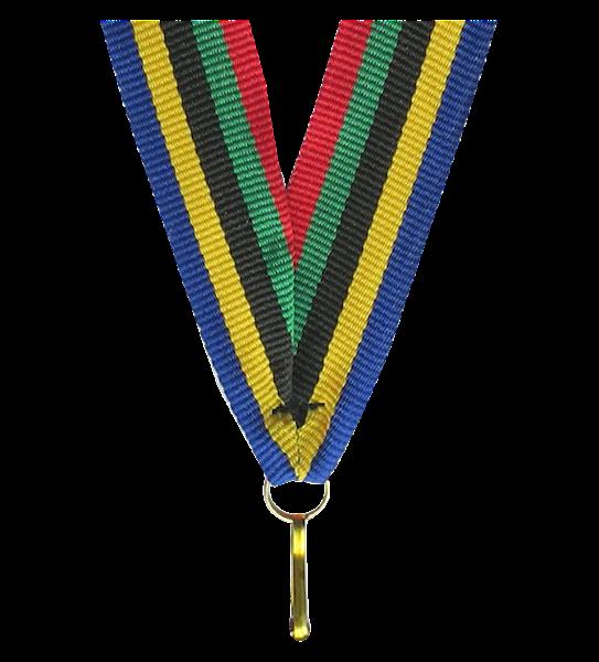 Wstążka tasiemka szarfa 1 cm olimpiada