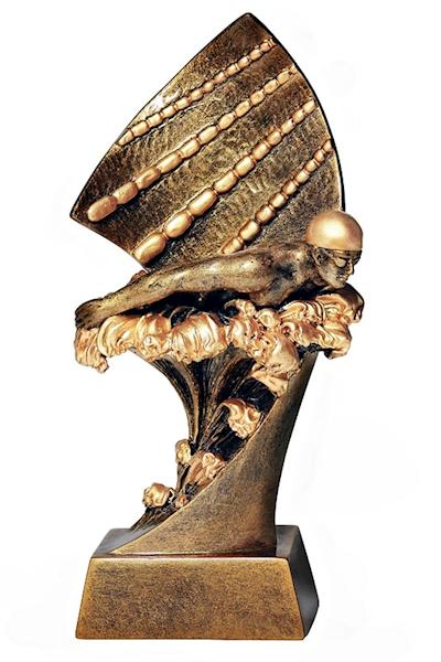 Statuetka RTX011 pływanie