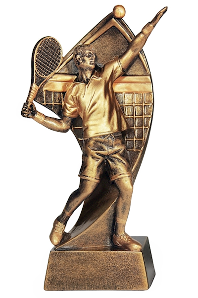 Statuetka RTX007 tenis ziemny