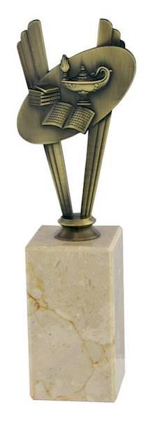Statuetka metalowa MD 03A nauka