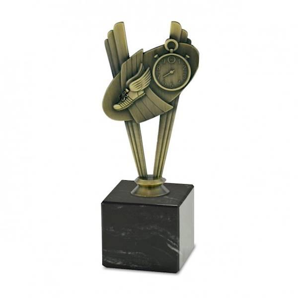 Statuetka metalowa MD 04C biegi
