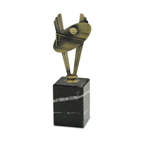 Statuetka metalowa MD 06B siatkówka