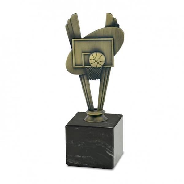 Statuetka metalowa MD 05C koszykówka