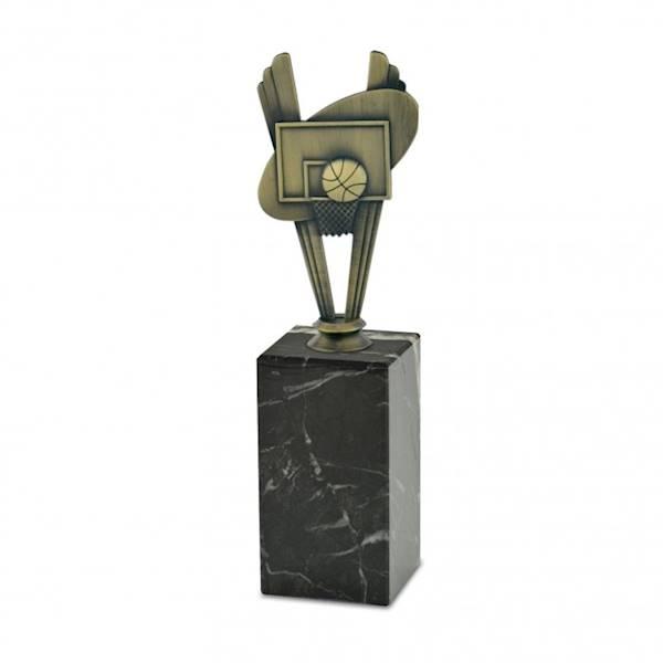 Statuetka metalowa MD 05A koszykówka