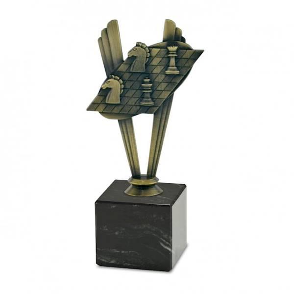 Statuetka metalowa MD 08C szachy