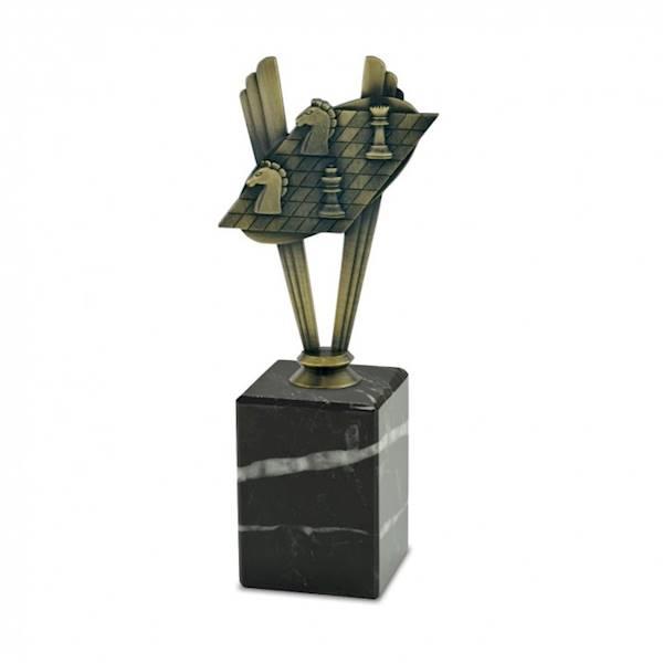 Statuetka metalowa MD 08B szachy