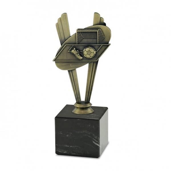 Statuetka metalowa MD 10C piłka nożna