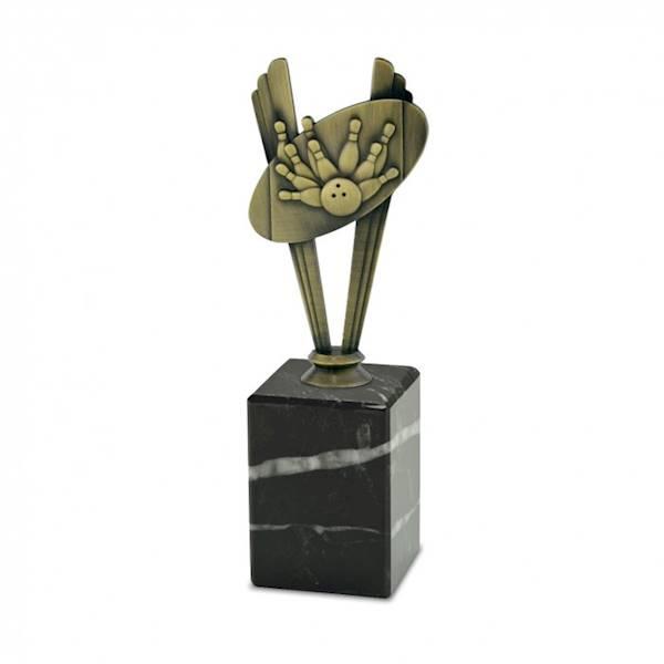 Statuetka metalowa MD 11B kręgle
