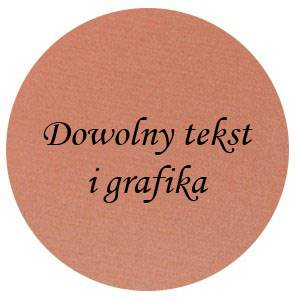 Grawerton Blaszka LOGO 50 mm