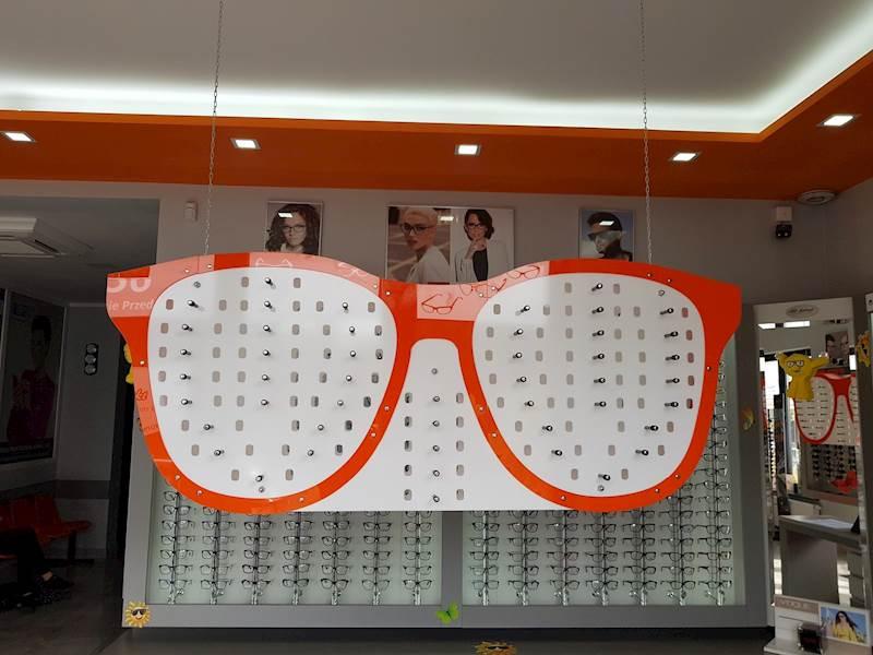 EKSPOZYTOR na okulary OPRAWKA 47 opraw