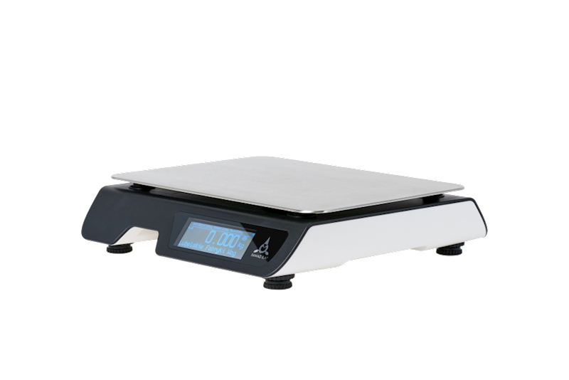 WAGA FAWAG WS1 wer. LCD 6/15 kg, RAL9003/RAL9011