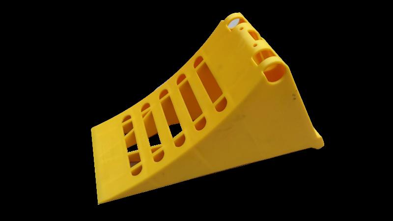 KLIN G46/160,PE DIN 7605-46,ŻÓŁTY PLASTIK