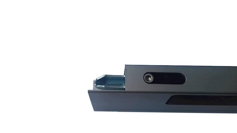 ZAMKNIĘCIE LEKKIE PRAWE B/N H400 25MM PION. BOLEC