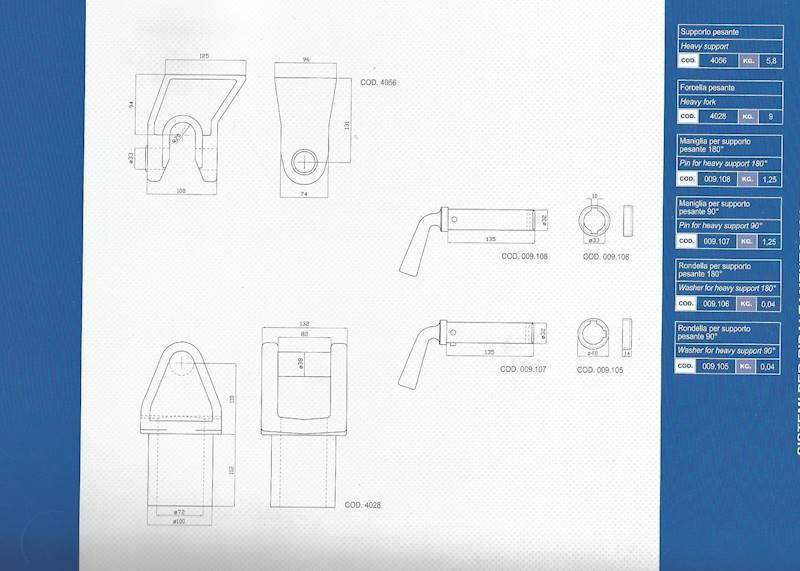 BOLEC  FI 42 KLUCZ 90st  DO SZCZĘKI  ART. 4056