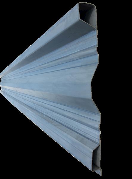 STAL.PROFIL NADSTAWY  BOK  L=1mb /2,5mm