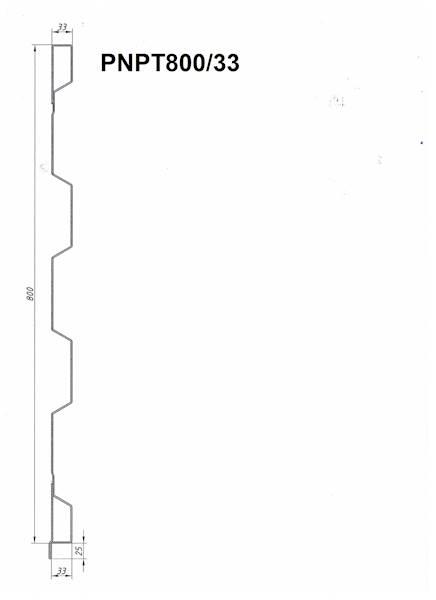 STAL. PROFIL NADSTAWY PRZEDNIEJ  L= 1 mb
