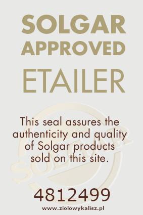Certyfikat jakości od firmy SOLGAR
