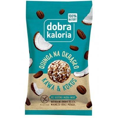 Quinoa na okrągło - Kawa i kokos 24g DOBRA KALORIA