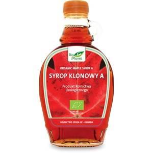 SYROP KLONOWY A BIO 250 ml - BIO PLANET