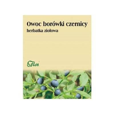Borówka czernica owoc 50g FLOS