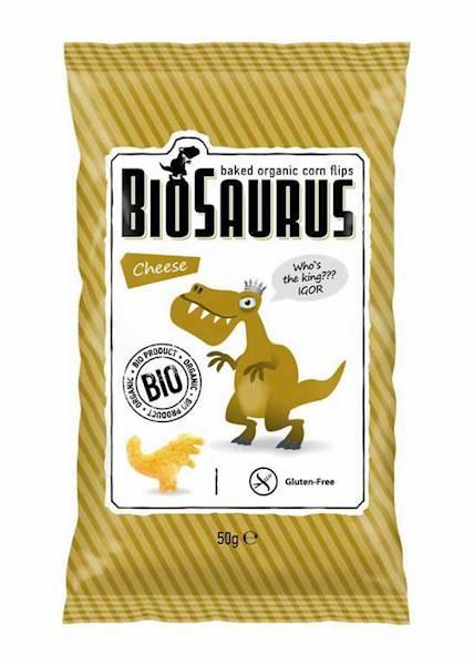 BIOSAURUS bio chrupki kukurydziane SER 50g