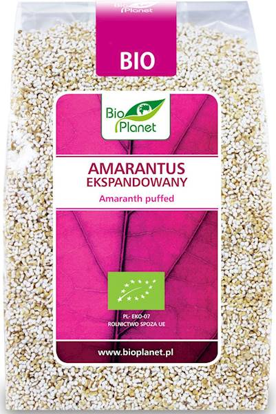 BIO PLANET Amarantus ekspandowany BIO 100g