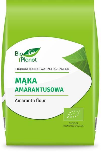 BIO PLANET Mąka amarantusowa BIO 400g