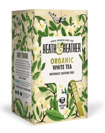 herbatka ekologiczna White Tea Heath & Heather