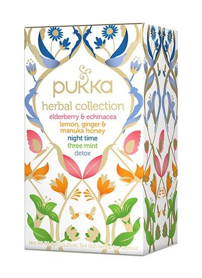 PUKKA  herbata HERBATA HERBAL COLLECTION BIO