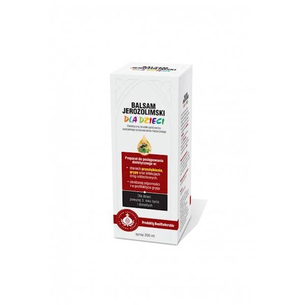 Balsam Jerozolimski Syrop dla dzieci 200 ml
