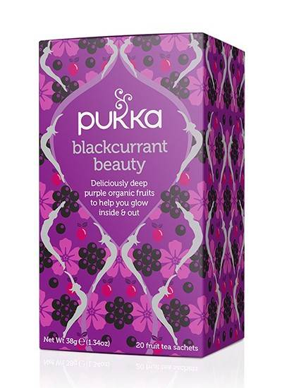 PUKKA  herbata  Blackcurrant Beauty 20 saszetek