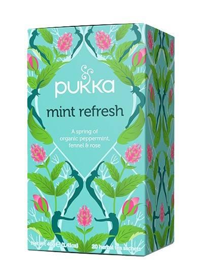 PUKKA  herbata  Mint Refresh 20 saszetek